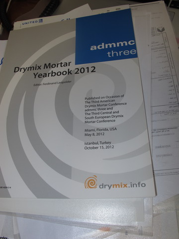Drymix Mortar Yearbook 2012